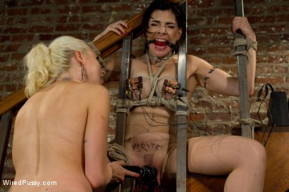 Photo number 6 from Teacher and Student shot for Wired Pussy on Kink.com. Featuring Lorelei Lee and Annika in hardcore BDSM & Fetish porn.