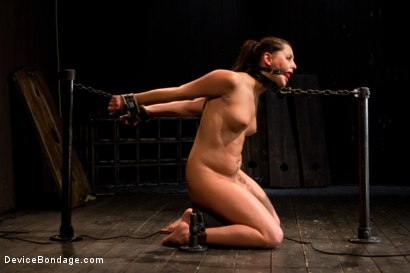 Photo number 10 from Skydiver lands herself in a dungeon shot for Device Bondage on Kink.com. Featuring Hope Howell in hardcore BDSM & Fetish porn.