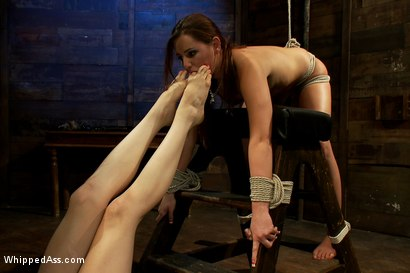 Photo number 8 from Hope shot for Whipped Ass on Kink.com. Featuring Hope Howell and Lorelei Lee in hardcore BDSM & Fetish porn.