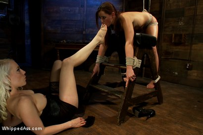 Photo number 14 from Hope shot for Whipped Ass on Kink.com. Featuring Hope Howell and Lorelei Lee in hardcore BDSM & Fetish porn.