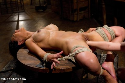 Photo number 6 from Lactating Anal Whore shot for Whipped Ass on Kink.com. Featuring Tia Ling and Aiden Starr in hardcore BDSM & Fetish porn.