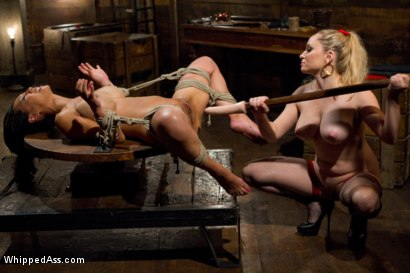 Photo number 14 from Lactating Anal Whore shot for Whipped Ass on Kink.com. Featuring Tia Ling and Aiden Starr in hardcore BDSM & Fetish porn.
