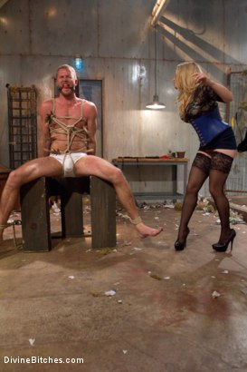 Photo number 12 from Breaking Bad: Episode 3 shot for Divine Bitches on Kink.com. Featuring Drake Temple and Aiden Starr in hardcore BDSM & Fetish porn.