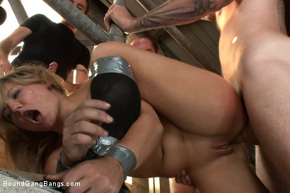 Photo number 8 from Casey Cumz Creampie shot for Bound Gang Bangs on Kink.com. Featuring James Deen, Mr. Pete, John Smith, Christian Wilde, Dietrich Cyrus, Casey Cumz and Chris Archer in hardcore BDSM & Fetish porn.