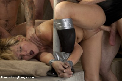 Photo number 9 from Casey Cumz Creampie shot for Bound Gang Bangs on Kink.com. Featuring James Deen, Mr. Pete, John Smith, Christian Wilde, Dietrich Cyrus, Casey Cumz and Chris Archer in hardcore BDSM & Fetish porn.