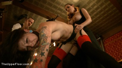 Photo number 19 from The Promotion of Grace shot for The Upper Floor on Kink.com. Featuring Iona Grace, Krysta Kaos and Maestro in hardcore BDSM & Fetish porn.