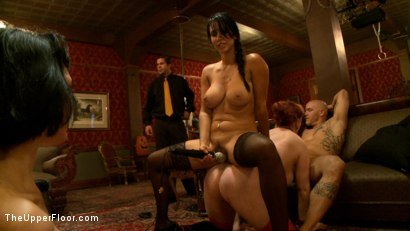 Photo number 20 from The Cuckolding of 5 shot for The Upper Floor on Kink.com. Featuring Iona Grace, Nerine Mechanique, Derrick Pierce, Isis Love and Asphyxia Noir in hardcore BDSM & Fetish porn.