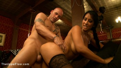 Photo number 24 from The Cuckolding of 5 shot for The Upper Floor on Kink.com. Featuring Iona Grace, Nerine Mechanique, Derrick Pierce, Isis Love and Asphyxia Noir in hardcore BDSM & Fetish porn.