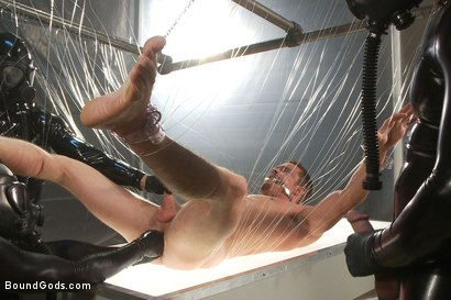 Photo number 7 from They Cum from Outer Space - Part One shot for Bound Gods on Kink.com. Featuring Spencer Reed, Josh West, Jackson Lawless, Reed Mathews and Scott Upton in hardcore BDSM & Fetish porn.