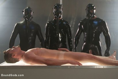 Photo number 14 from They Cum from Outer Space - Part One shot for Bound Gods on Kink.com. Featuring Spencer Reed, Josh West, Jackson Lawless, Reed Mathews and Scott Upton in hardcore BDSM & Fetish porn.