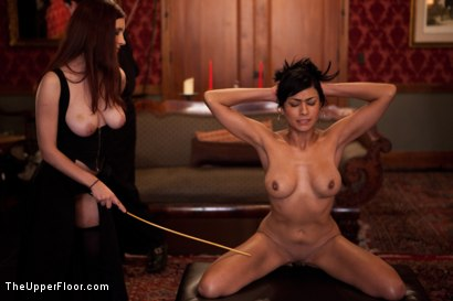 Photo number 12 from Fresh Meat: Beretta James shot for The Upper Floor on Kink.com. Featuring Iona Grace, Beretta James and Maestro Stefanos in hardcore BDSM & Fetish porn.
