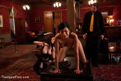 Photo number 13 from Fresh Meat: Beretta James shot for The Upper Floor on Kink.com. Featuring Iona Grace, Beretta James and Maestro Stefanos in hardcore BDSM & Fetish porn.
