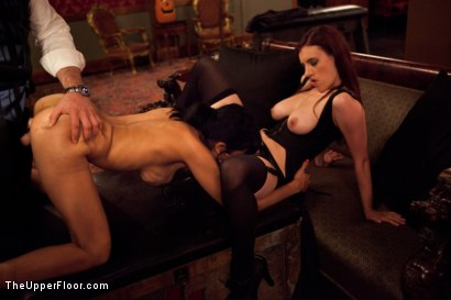 Photo number 7 from Fresh Meat: Beretta James shot for The Upper Floor on Kink.com. Featuring Iona Grace, Beretta James and Maestro Stefanos in hardcore BDSM & Fetish porn.