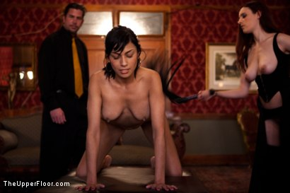 Photo number 10 from Fresh Meat: Beretta James shot for The Upper Floor on Kink.com. Featuring Iona Grace, Beretta James and Maestro Stefanos in hardcore BDSM & Fetish porn.