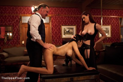 Photo number 4 from Fresh Meat: Beretta James shot for The Upper Floor on Kink.com. Featuring Iona Grace, Beretta James and Maestro Stefanos in hardcore BDSM & Fetish porn.