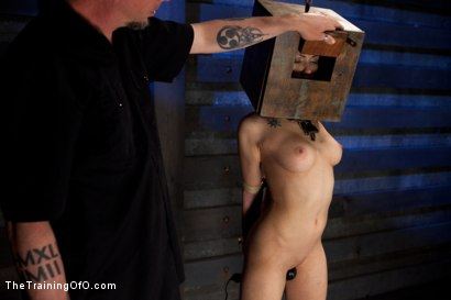 Photo number 22 from Ultimate Obedience: Heights, Drowning, and the Dark shot for The Training Of O on Kink.com. Featuring Asphyxia Noir in hardcore BDSM & Fetish porn.