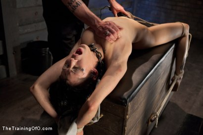 Photo number 13 from Ultimate Obedience: Heights, Drowning, and the Dark shot for The Training Of O on Kink.com. Featuring Asphyxia Noir in hardcore BDSM & Fetish porn.