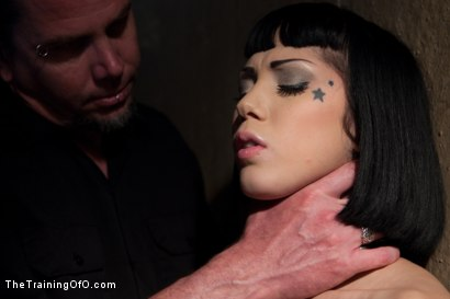 Photo number 4 from Ultimate Obedience: Heights, Drowning, and the Dark shot for The Training Of O on Kink.com. Featuring Asphyxia Noir in hardcore BDSM & Fetish porn.