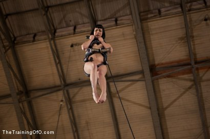 Photo number 6 from Ultimate Obedience: Heights, Drowning, and the Dark shot for The Training Of O on Kink.com. Featuring Asphyxia Noir in hardcore BDSM & Fetish porn.