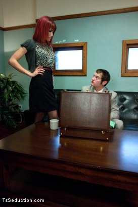 Photo number 1 from Mad Women: Never Piss off The Secretary shot for TS Seduction on Kink.com. Featuring Eva Lin and Mike J in hardcore BDSM & Fetish porn.