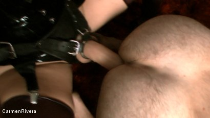 Photo number 4 from Asshole shot for Carmen Rivera on Kink.com. Featuring  in hardcore BDSM & Fetish porn.