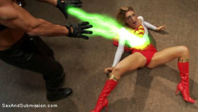 Photo number 4 from Broken Heroines: A Superhero Parody, High Production BDSM and Sex Feature! shot for Sex And Submission on Kink.com. Featuring Dee Williams, Lily LaBeau and Lee Stone in hardcore BDSM & Fetish porn.