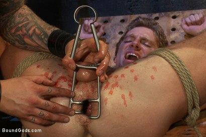 Photo number 10 from Kinky Ass Slave shot for Bound Gods on Kink.com. Featuring Parker London and Sebastian Keys in hardcore BDSM & Fetish porn.