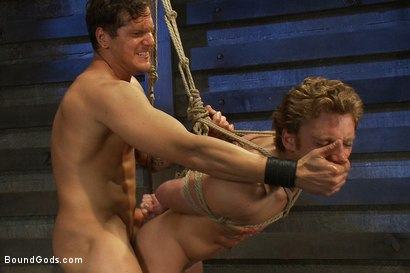 Photo number 13 from Kinky Ass Slave shot for Bound Gods on Kink.com. Featuring Parker London and Sebastian Keys in hardcore BDSM & Fetish porn.