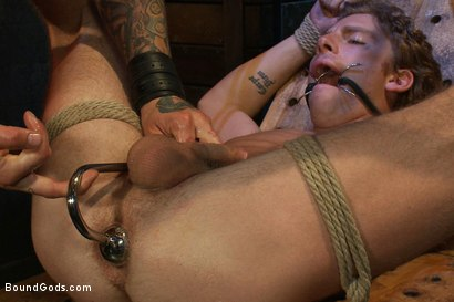 Photo number 5 from Kinky Ass Slave shot for Bound Gods on Kink.com. Featuring Parker London and Sebastian Keys in hardcore BDSM & Fetish porn.