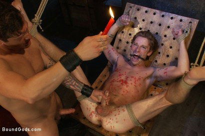 Photo number 7 from Kinky Ass Slave shot for Bound Gods on Kink.com. Featuring Parker London and Sebastian Keys in hardcore BDSM & Fetish porn.