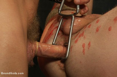 Photo number 11 from Kinky Ass Slave shot for Bound Gods on Kink.com. Featuring Parker London and Sebastian Keys in hardcore BDSM & Fetish porn.