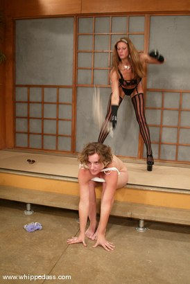 Photo number 8 from Kym Wilde and May-Anne shot for Whipped Ass on Kink.com. Featuring May-Anne and Kym Wilde in hardcore BDSM & Fetish porn.