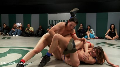Photo number 14 from BATTLE OF THE CHAMPIONS! TAG TEAM ACTION:<br>Last seasons top 4 battle in brutal Tag Team Action! shot for Ultimate Surrender on Kink.com. Featuring Isis Love, Ariel X, Dee Williams, Cheyenne Jewel and Bella Rossi in hardcore BDSM & Fetish porn.