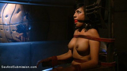 Photo number 2 from The Conditioning shot for Sex And Submission on Kink.com. Featuring James Deen, Mr. Pete and Beretta James in hardcore BDSM & Fetish porn.