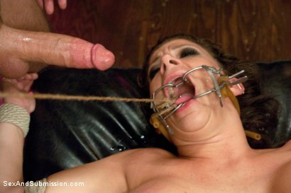 Photo number 14 from Mistreated: Sara Jay shot for Sex And Submission on Kink.com. Featuring James Deen and Sara Jay in hardcore BDSM & Fetish porn.