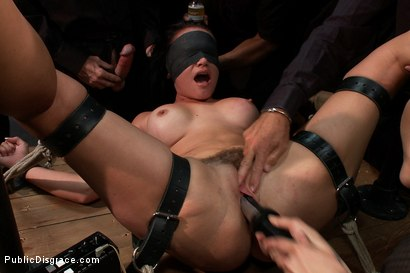Photo number 5 from Bad Attitude  shot for Public Disgrace on Kink.com. Featuring James Deen, Princess Donna Dolore and Ashli Ames in hardcore BDSM & Fetish porn.