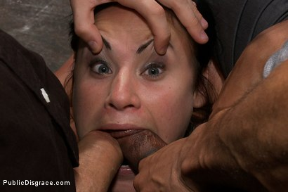 Photo number 12 from Bad Attitude  shot for Public Disgrace on Kink.com. Featuring James Deen, Princess Donna Dolore and Ashli Ames in hardcore BDSM & Fetish porn.