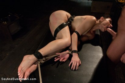 Photo number 9 from Annika shot for Sex And Submission on Kink.com. Featuring Mark Davis and Annika in hardcore BDSM & Fetish porn.