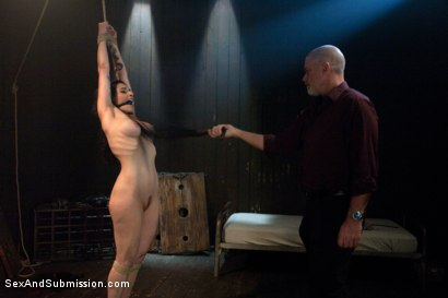 Photo number 3 from Annika shot for Sex And Submission on Kink.com. Featuring Mark Davis and Annika in hardcore BDSM & Fetish porn.