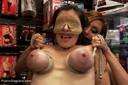 Photo number 9 from Hot MILF With Big Tits Gets Disgraced and Ass Fucked in Porn Store shot for Public Disgrace on Kink.com. Featuring Mark Davis, Princess Donna Dolore and Annika in hardcore BDSM & Fetish porn.