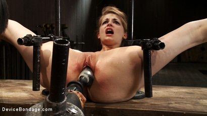 Photo number 10 from Hand, Prosthetic, Machine - There's more than one way to fuck a slut shot for Device Bondage on Kink.com. Featuring Isis Love and Sensi Pearl in hardcore BDSM & Fetish porn.