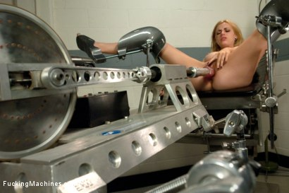 Photo number 3 from Machine Maniac: Lexi Belle and her Bottomless Pussy shot for Fucking Machines on Kink.com. Featuring Lexi Belle in hardcore BDSM & Fetish porn.