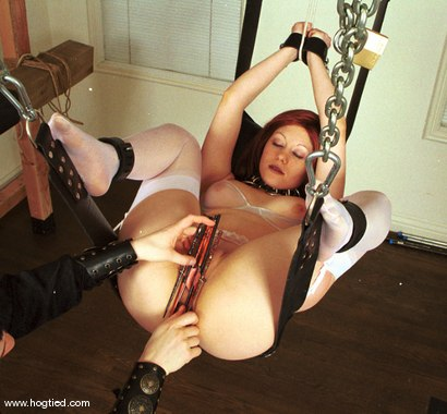 Photo number 9 from Zille and Alexi shot for Hogtied on Kink.com. Featuring Alexi and Zille in hardcore BDSM & Fetish porn.
