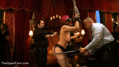 Photo number 18 from Pre-Folsom Party: part one shot for The Upper Floor on Kink.com. Featuring Asphyxia Noir, Skin Diamond, Krysta Kaos, Iona Grace, Nerine Mechanique and Pink Suga in hardcore BDSM & Fetish porn.