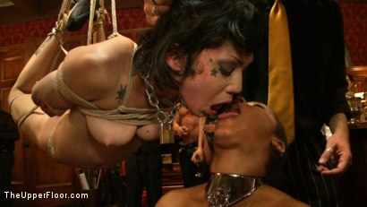 Photo number 21 from Pre-Folsom Party: part one shot for The Upper Floor on Kink.com. Featuring Asphyxia Noir, Skin Diamond, Krysta Kaos, Iona Grace, Nerine Mechanique and Pink Suga in hardcore BDSM & Fetish porn.