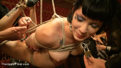 Photo number 24 from Pre-Folsom Party: part one shot for The Upper Floor on Kink.com. Featuring Asphyxia Noir, Skin Diamond, Krysta Kaos, Iona Grace, Nerine Mechanique and Pink Suga in hardcore BDSM & Fetish porn.