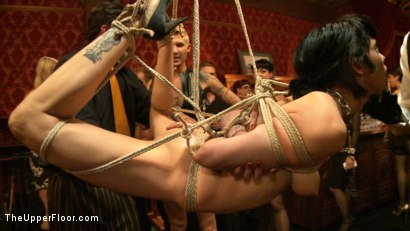 Photo number 23 from Pre-Folsom Party: part one shot for The Upper Floor on Kink.com. Featuring Asphyxia Noir, Skin Diamond, Krysta Kaos, Iona Grace, Nerine Mechanique and Pink Suga in hardcore BDSM & Fetish porn.