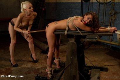 Photo number 7 from Suffer for Me! shot for Wired Pussy on Kink.com. Featuring Lorelei Lee and Melissa Jacobs in hardcore BDSM & Fetish porn.