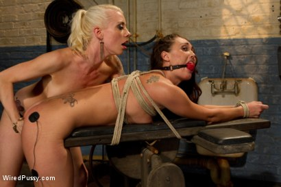 Photo number 11 from Suffer for Me! shot for Wired Pussy on Kink.com. Featuring Lorelei Lee and Melissa Jacobs in hardcore BDSM & Fetish porn.