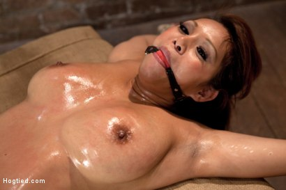 Photo number 9 from Hot Asian is finger banged to multiple orgasms. Then vibrated to multiple, back and forth, no mercy! shot for Hogtied on Kink.com. Featuring Baylee Lee in hardcore BDSM & Fetish porn.